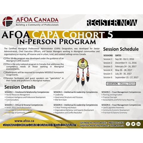AFOA Capa kCohort 5