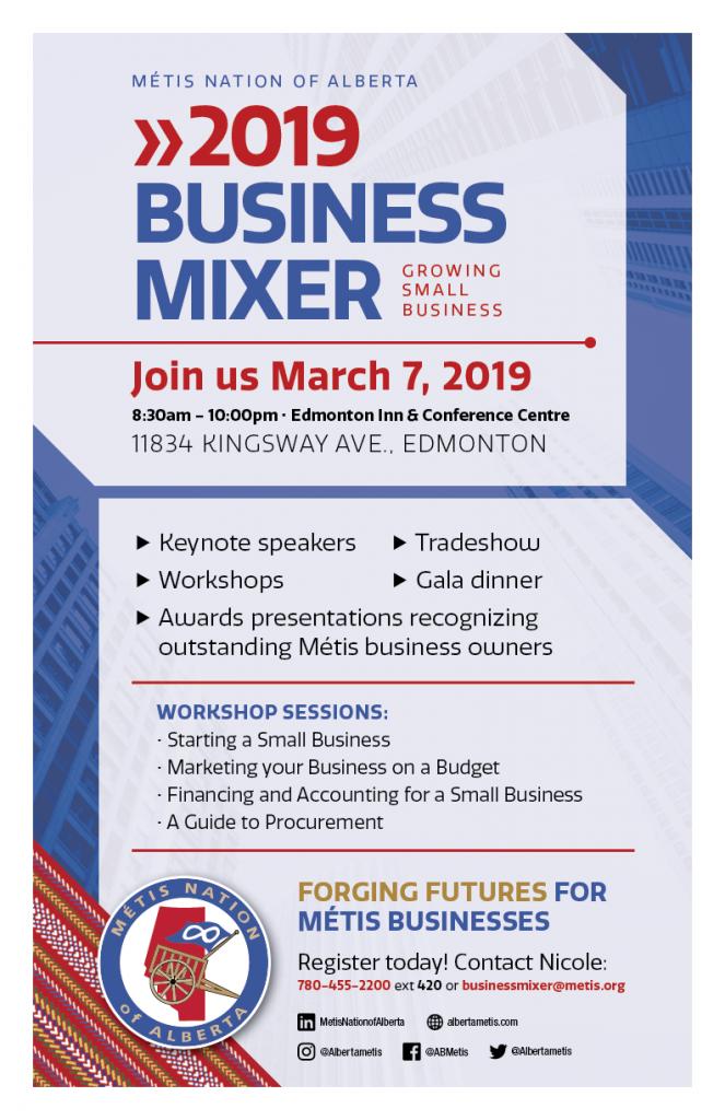 Business Mixer 2019 Poster