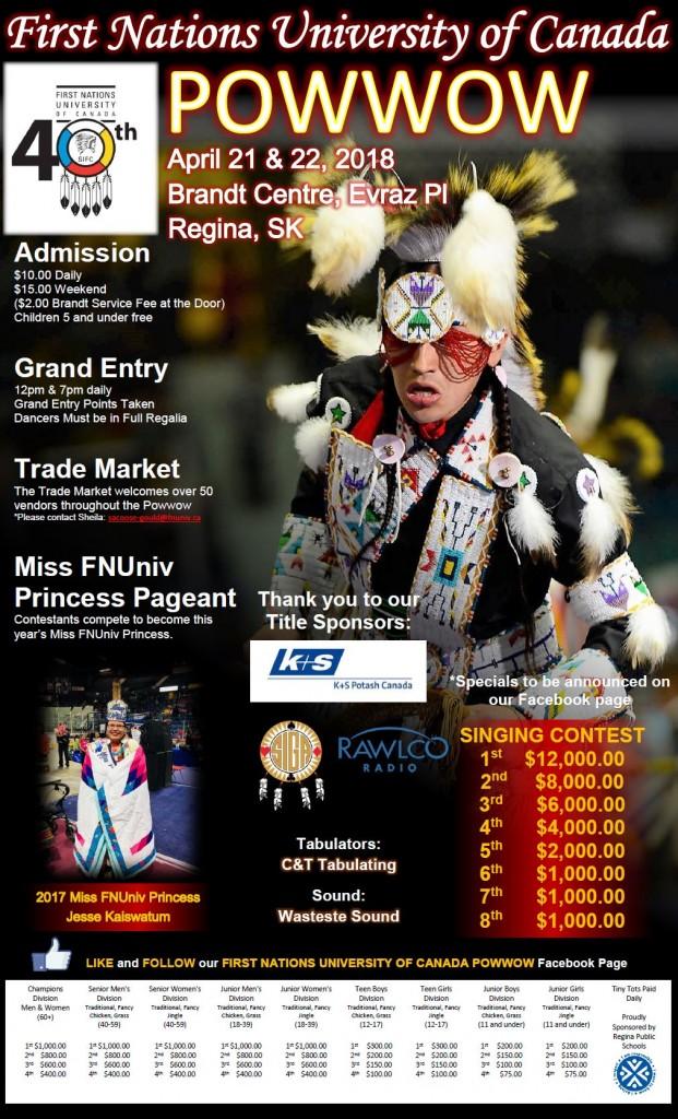 FNUniv Powwow Poster 2018 (Participant) Final