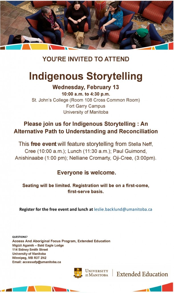 Indigenous Story Telling