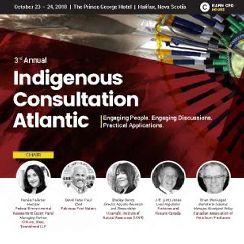 Indigenous consultation East Coast
