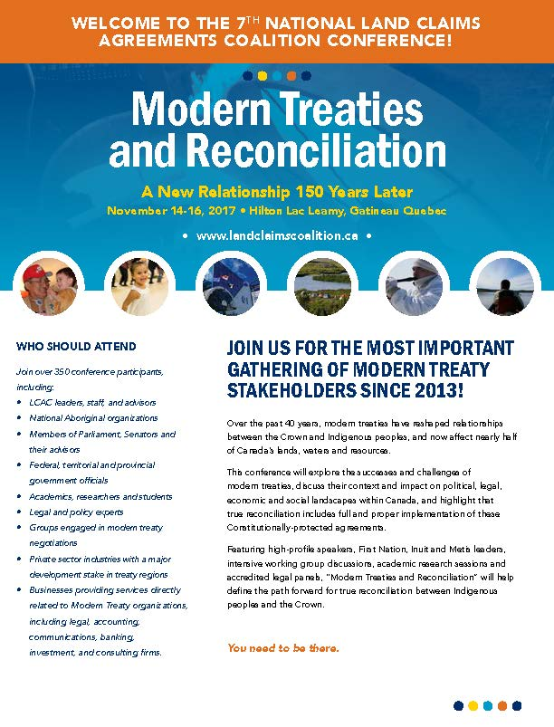 Modern Treaties and Reconciliation Brochure_Page_1