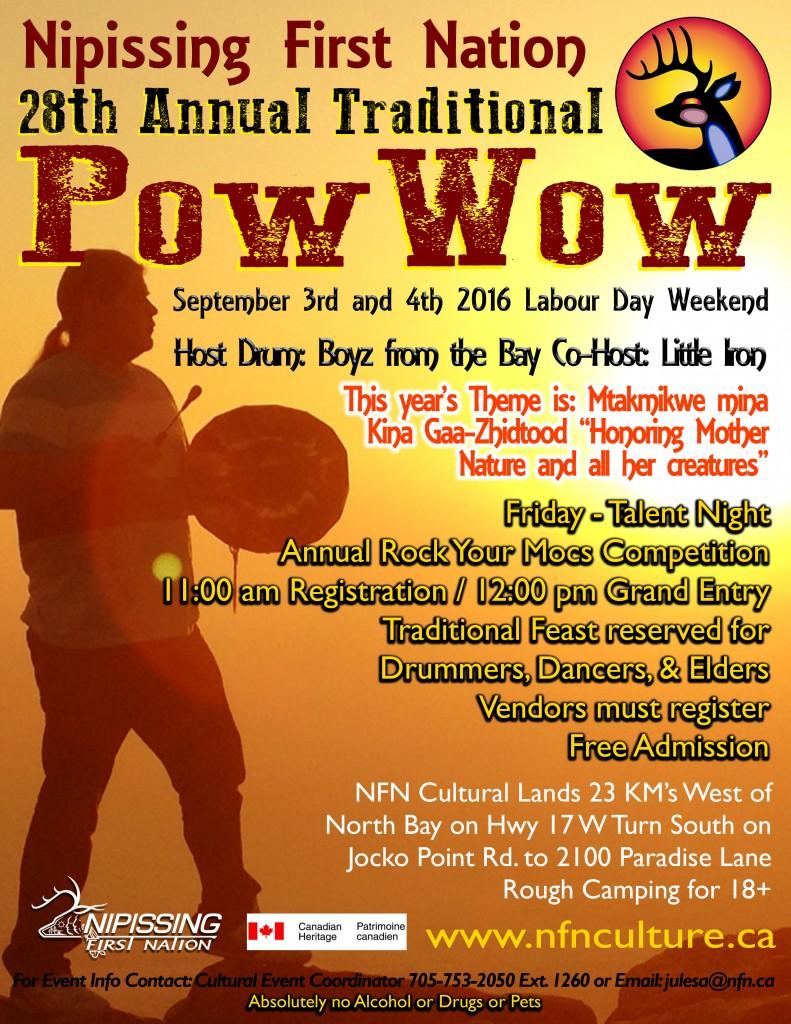 Poster - Pow Wow 2016
