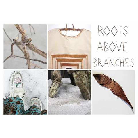 Roots above branches