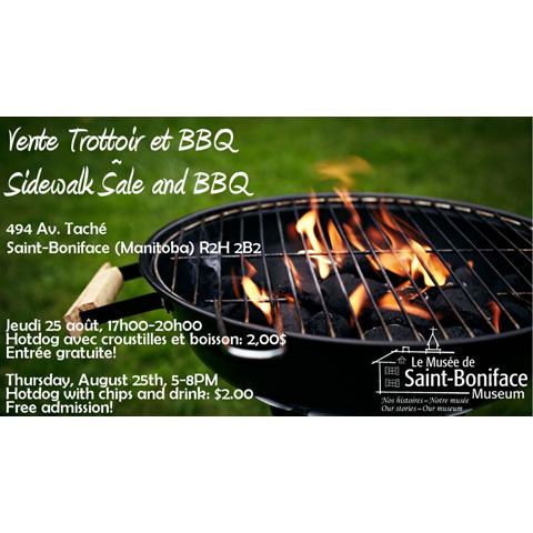 Sidewalk Sale & BBQ