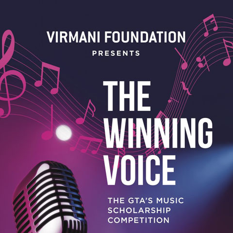 The winning voice