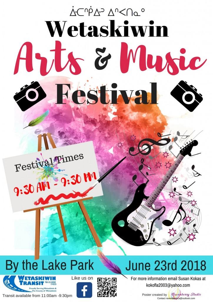 Wetaskiwin Arts and Music Festival – APTN Community