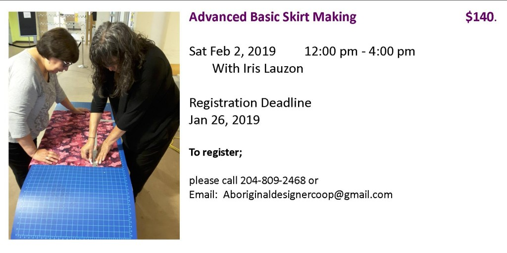 advanced skirt making