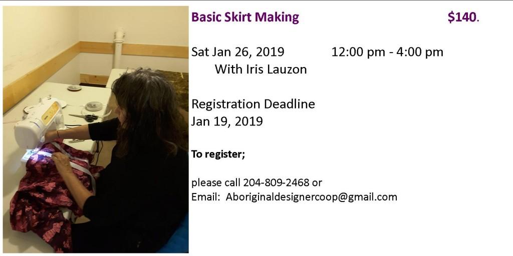 basic skirt making