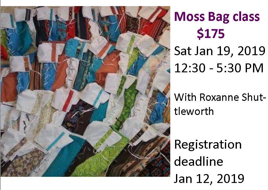 moss bag class
