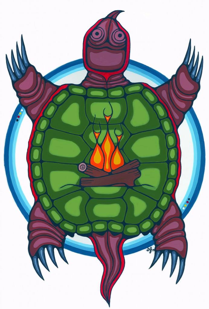turtle colour 4 x7